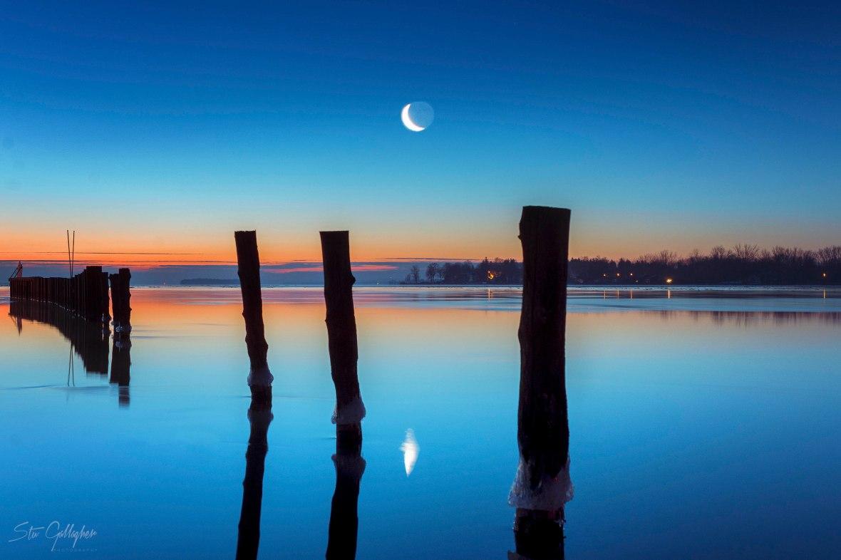 oneida lake sunrise