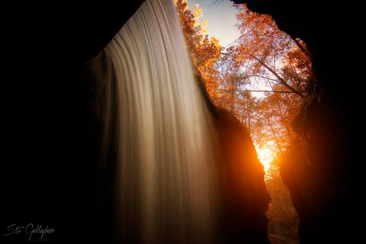 watkins glen state park sunrise